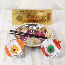 Attractive Diwali Thali
