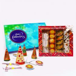 Cadbury Celebration Chocolate Pack with Assorted Sweet and Diwali Fire Cracker