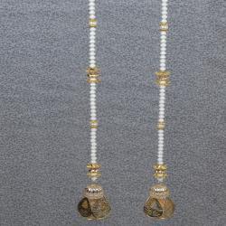 Diwali Decorative Pearl String Long Door Hanging