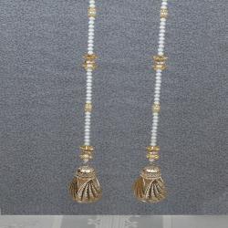Diwali Exclusive Pearl String Long Door Hanging