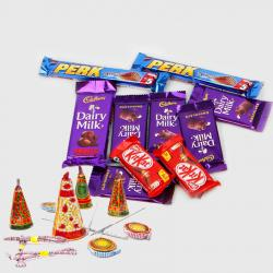 Diwali Gift of Fire Cracker and Chocolates