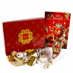 Shubh Labh Diwali Hanging with Assorted Sweet Hamper