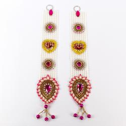 Shubh Labh Long Hanging Exclusive Set